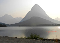 Swiftcurrent Lake Glacier
